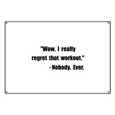 Workout Quote Banner