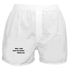 Workout Quote Boxer Shorts