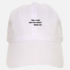 Workout Quote Hat