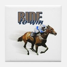 Ride To Win Tile Coaster