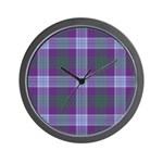 Tartan - Lang Wall Clock