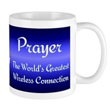 Prayer - World's Greatest Wir Small Mug