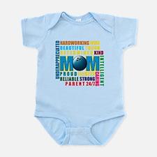 A Bowling Mom Infant Bodysuit