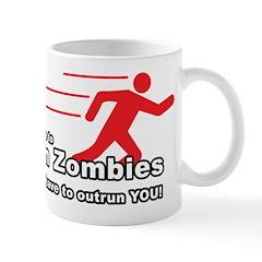 Zombie Outrun You Mug