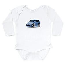 Scion XB Lt.Blue Car Long Sleeve Infant Bodysuit