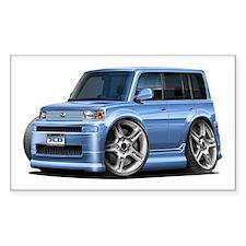 Scion XB Lt.Blue Car Decal