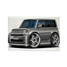 Scion XB Grey Car Rectangle Magnet