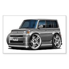 Scion XB Grey Car Decal