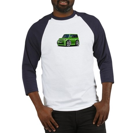 Scion XB Green Car Baseball Jersey