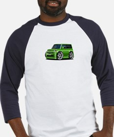 Scion XB Green Car Baseball Jersey