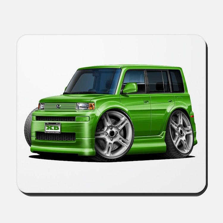 Scion XB Green Car Mousepad