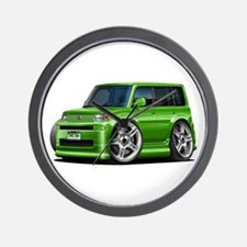 Scion XB Green Car Wall Clock