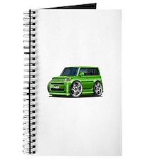 Scion XB Green Car Journal