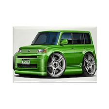 Scion XB Green Car Rectangle Magnet