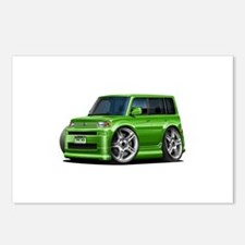 Scion XB Green Car Postcards (Package of 8)
