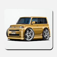 Scion XB Gold Car Mousepad