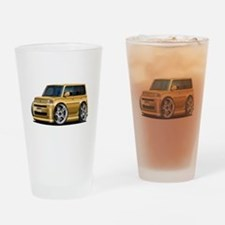 Scion XB Gold Car Drinking Glass