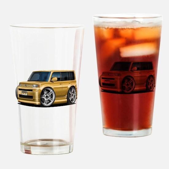 Scion XB Gold Car Drinking Glass