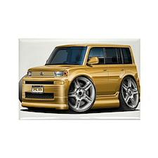 Scion XB Gold Car Rectangle Magnet