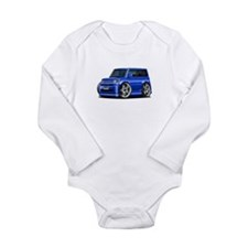 Scion XB Blue Car Long Sleeve Infant Bodysuit