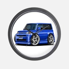 Scion XB Blue Car Wall Clock