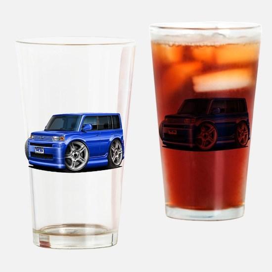 Scion XB Blue Car Drinking Glass