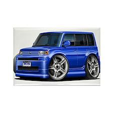 Scion XB Blue Car Rectangle Magnet