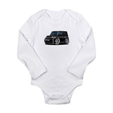 Scion XB Black Car Long Sleeve Infant Bodysuit