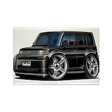 Scion XB Black Car Rectangle Magnet