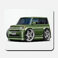 Scion XB Army Green Car Mousepad