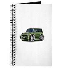Scion XB Army Green Car Journal