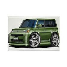 Scion XB Army Green Car Rectangle Magnet