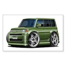 Scion XB Army Green Car Decal