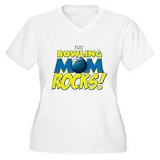 This Bowling Mom Rocks T-Shirt