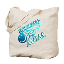Bowling Mom (flame) Tote Bag