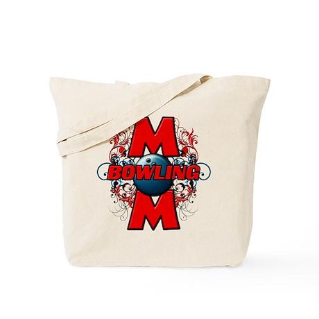 Bowling Mom (cross) Tote Bag