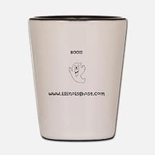 Boo!!! Shot Glass