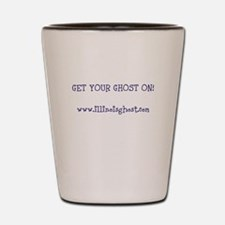 Get Your Ghost On! Shot Glass