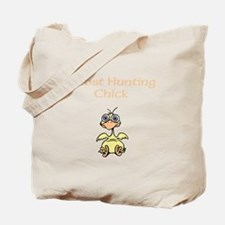 Ghost Hunting Chick Tote Bag