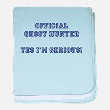 Official Ghost Hunter. Yes I baby blanket