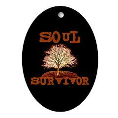 Soul Survivor Oval Ornament