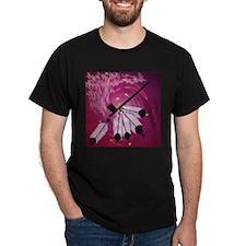 Peace Pipe Black T-Shirt