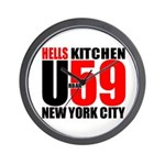 HKNYC Urban59 - Wall Clock