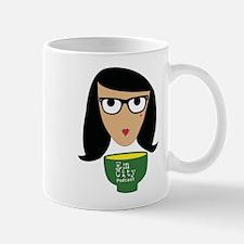 Cute Geek girl soup Mug