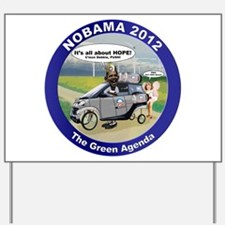 Green Agenda Yard Sign