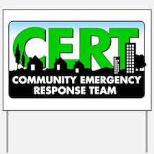 CERT Yard Sign