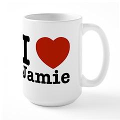 I love Jamie Large Mug
