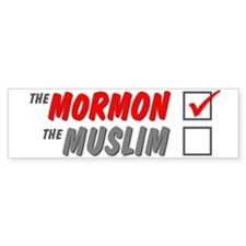 the morman Bumper Bumper Sticker