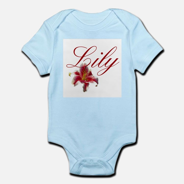 Personalized Lily Infant Creeper