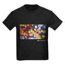 Monet Painting, Chrysanthemums, T